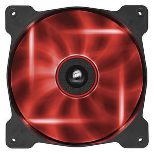 Corsair CO-9050034-WW Air Series SP140 LED Red High Static Pressure 140mm Fan Twin Pack