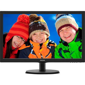 "Philips 223V5LHSB V-line 21.5"" LED LCD Monitor - 16:9 - 5 ms"