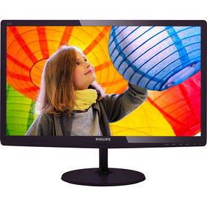 "Philips 247E6QDSD E-line 23.6"" LED LCD Monitor - 16:9 - 5 ms"