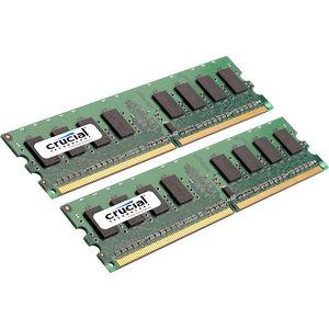 Crucial CT2K8G3ERVLD8160B 16GB (2 x 8 GB) DDR3 SDRAM Memory Module - ECC - Registered