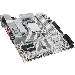 MSI B250M MORTAR ARCTIC Desktop Motherboard - Intel Chipset - Socket H4 LGA-1151