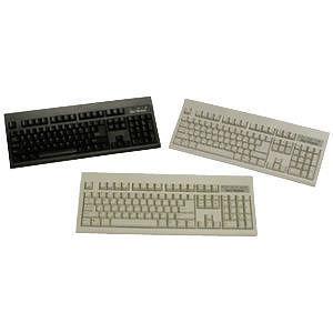 KeyTronic E06101P1 Beige Keyboard