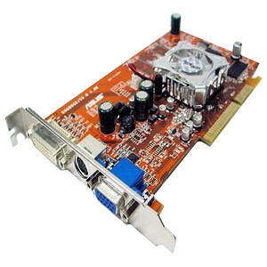 AMD 100-437009 RADEON 9600 SE Graphics Card
