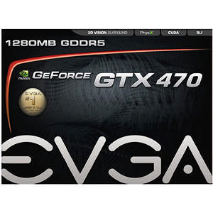 EVGA 012-P3-1470-TR GeForce 470 Graphic Card - 1.25 GB GDDR5
