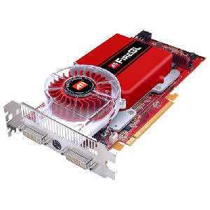 AMD 100-505143 FireGL V7350 Graphics Card