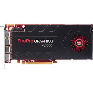AMD 100-505848 FirePro W7000 Graphic Card 4 GB GDDR5 - PCIe x16 - Single Slot