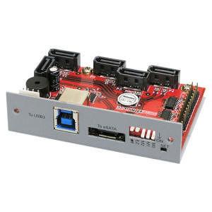 Addonics AD5HPMREU HPM-XU 5-port Serial ATA Controller