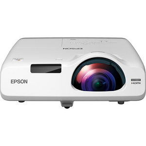 Epson V11H671020 PowerLite 535W Short Throw LCD Projector - 16:10 - White