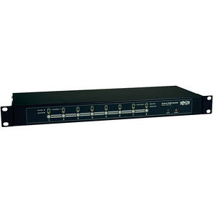 Tripp Lite B007-008 8-Port Rackmount KVM Switch w/ On-Screen Display Steel 1U