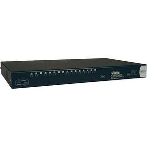 Tripp Lite B060-016-2 16-Port Rackmount KVM Switch Cat5 Matrix 2-User 1U TAA GSA