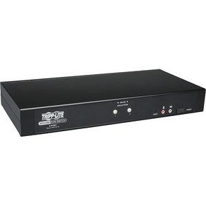 Tripp Lite B002-DUA2 2-Port Secure KVM Switch DVI / USB Audio NIAP EAL2 TAA GSA