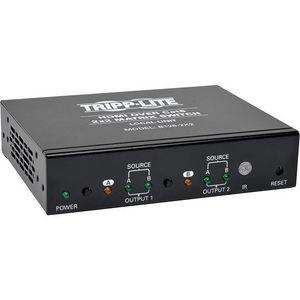 Tripp Lite B126-2X2 HDMI over Cat5 Cat6 2x2 Matrix Video Extender Switch HDMI RJ45 F/F TAA