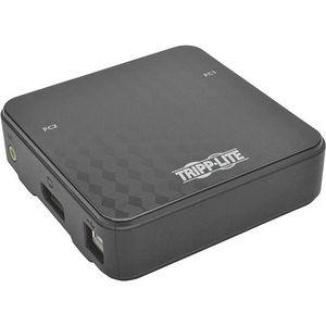 Tripp Lite B004-DP2UA2-K 2-Port DisplayPort 1.2 KVM Switch USB Sharing 4K x2K 3840 x 2160