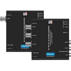 Osprey 97-21213 3G SDI to HDMI Converter with Audio De-Embedding and SDI Loopouts