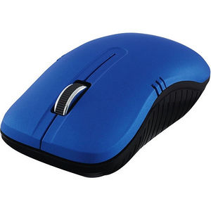 Verbatim 99766 Wireless Notebook Optical Mouse, Commuter Series - Matte Blue