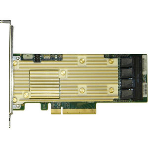 Intel RSP3TD160F Tri-mode PCIe/SAS/SATA Full-Featured RAID Adapter, 16 internal ports