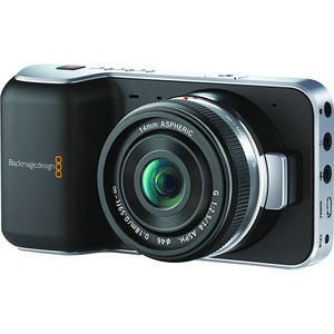 Blackmagic Design CINECAMPOCHDMFT Mirrorless Camera Body Only