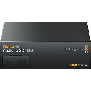 Blackmagic Design CONVNTRM/CB/AUSDI Teranex Mini - Audio to SDI 12G