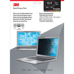"3M PF125W9B Privacy Filter for 12.5"" Widescreen Laptop"