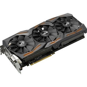 ASUS STRIX-GTX1080-A8G-GAMING GeForce GTX 1080 Graphic Card - 1.7 GHz Core - 8GB GDDR5X - PCI-E 3.0