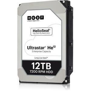 "HGST 0F30144 Ultrastar He12 512E ISE HUH721212ALE600 12 TB SATA 3.5"" 256MB Cache 7200RPM Hard Drive"