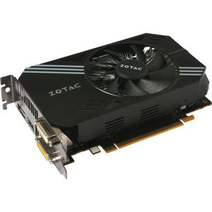 ZOTAC ZT-90601-10L GeForce GTX 950 Graphic Card - 1.09 GHz Core - 2GB GDDR5 - PCI-E 3.0 - Dual Slot