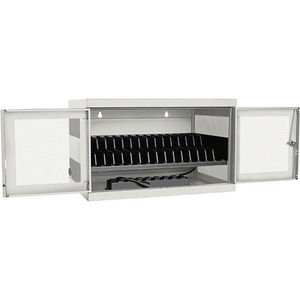 Tripp Lite CSC16ACW 16-Port AC Charging Storage Station w/ Cart Options Chromebook Laptop White