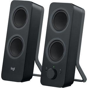 Logitech 980-001294 Z207 Speaker System - 5 W RMS - Wireless Speaker(s) - Black