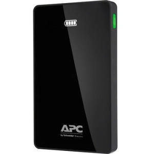 APC M5BK Mobile Power Pack, 5000mAh Li-polymer, Black