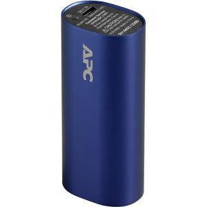 APC M3BL Mobile Power Pack, 3000mAh Li-ion Cylinder, Blue