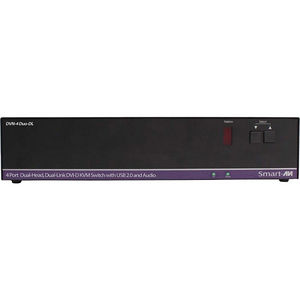 SmartAVI DVN-4DUO-DLS 4-Port Dual-Head, Dual-Link DVI-D KVM Switch