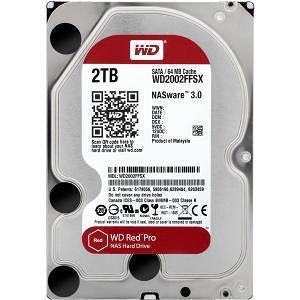 """WD WD2002FFSX Red Pro 2 TB Hard Drive - SATA (SATA/600) - 3.5"""" Drive - Internal"""