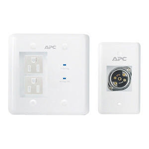 APC INWALLKIT-WHT AV White In-Wall Power Filter and Connection Kit