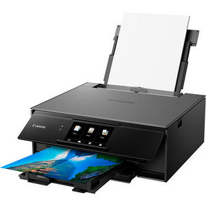 Canon 2231C042 PIXMA TS9120 Inkjet Multifunction Printer - Color - Photo/Disc Print - Desktop