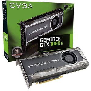 EVGA 11G-P4-5390-KR GeForce GTX 1080 Ti Graphic Card - 1.48 GHz Core - 11 GB GDDR5X - Dual Slot