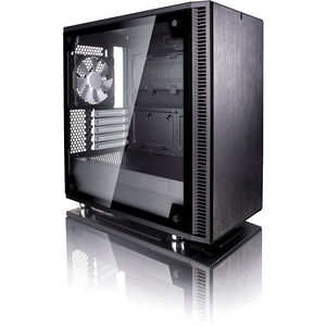 Fractal Design FD-CA-DEF-MINI-C-BK-TG Define Mini C TG Computer Case with Windowed Side Panel