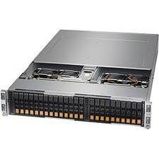 Supermicro AS -2123BT-HNR A+ Server Barebone System - 2U - AMD Socket SP3 - 2 x CPU Support