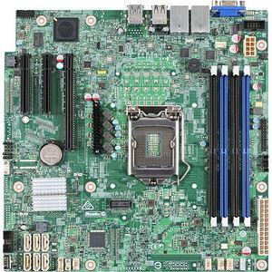 Intel DBS1200SPSR S1200SPSR Server Motherboard - Chipset - 1 Pack