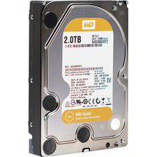 "WD WD2005FBYZ Gold 2 TB Hard Drive - SATA (SATA/600) - 3.5"" Drive - Internal"