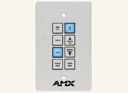 AMX FG1311-08-SW 8-button Keypad (Us) With Axlink