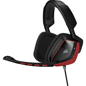 Corsair CA-9011144-NA VOID Surround Hybrid Stereo Gaming Headset with Dolby 7.1 USB Adapter