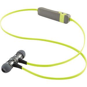 Verbatim 99775 Bluetooth Stereo Earphones with Microphone - Green