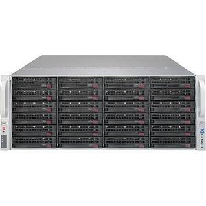 "Exxact TensorEX TTJ-1340771 4U JBOD 24x 3.5"" SATA/SAS hot-swap drive chassis"