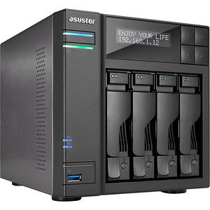 ASUSTOR AS6404T SAN/NAS Storage System