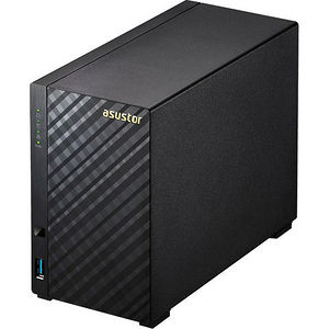 ASUSTOR AS3202T 2 Bay NAS Tower 2 GB DDR3L