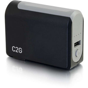 C2G 20275 1-Port USB Wall Charger - AC to USB Adapter with Power Bank, 5V 1A Output