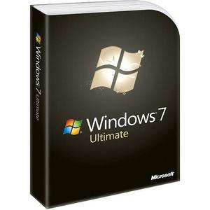 Microsoft GLC-00182 Windows 7 Ultimate Edition OS
