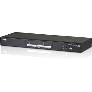 ATEN CS1644A 4-Port USB DVI Dual View KVMP Switch-TAA Compliant