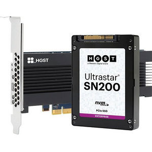 HGST 0TS1307 Ultrastar SN200 HUSMR7616BDP301 1.60 TB Internal SSD - PCI Express - Plug-in Card