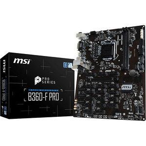 MSI B360FPRO B360-F PRO Desktop Motherboard - Intel Chipset - Socket H4 LGA-1151